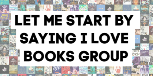 Kim Bongiorno's Book Discussion Group: LET ME START BY SAYING I LOVE BOOKS | All are welcome in my book club, where you read what YOU want.