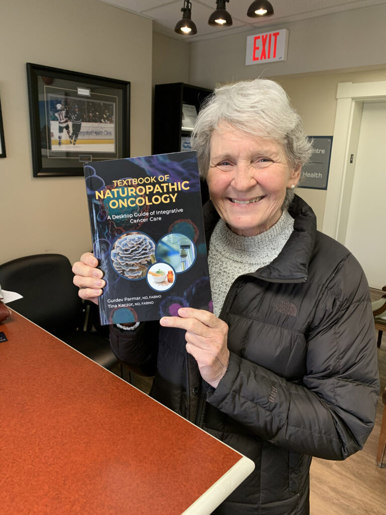 First Happy Purchaser of the Texbook of Naturopathic Oncology