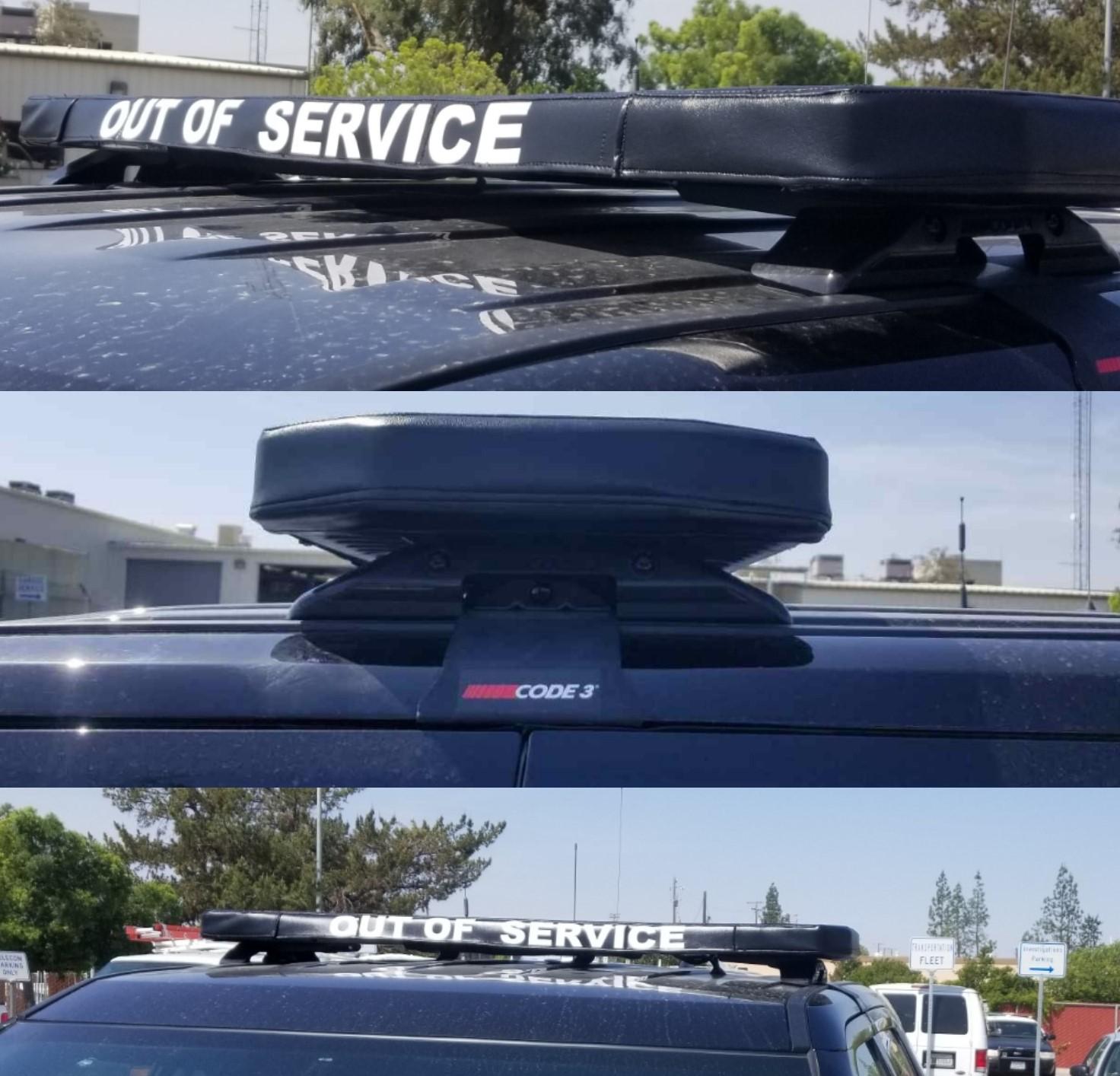 police light bar cover