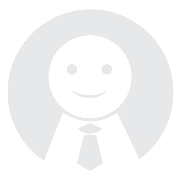 A cute placeholder image resembling an androgynous figure wearing a tie for the Life Science Women's Network.