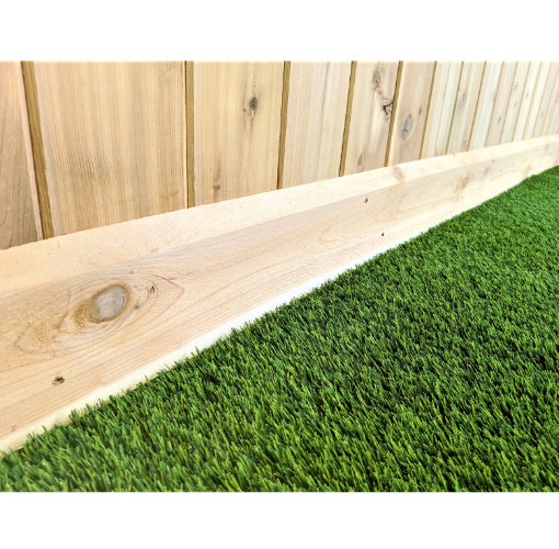 The Burnaby Solid Cedar Fence Panel