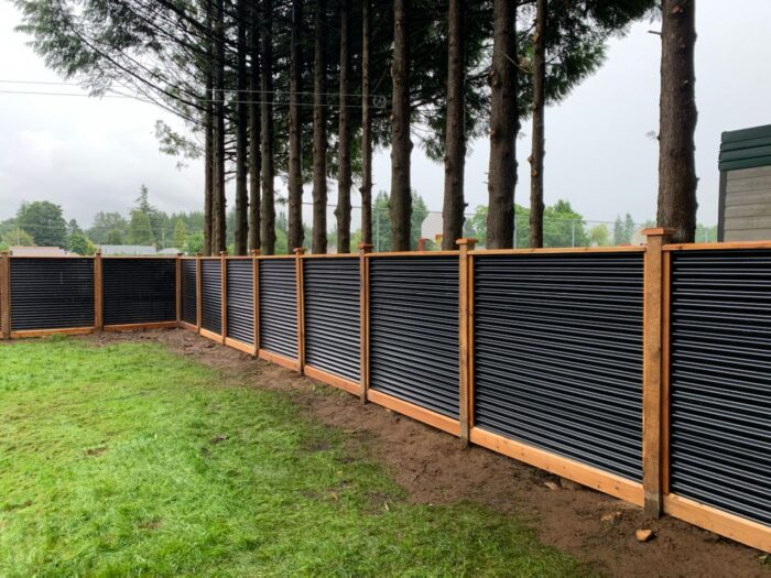 Chilliwack Cedar Fence Panel