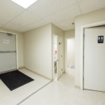 Suite 45A shared restrooms