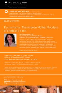 Pachamama: The Andean Mother Goddess of Earth and Time @ Houston Museum of Natural Science