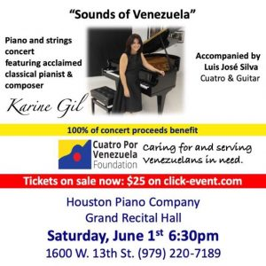 Sounds of Venezuela by Karine Gil @ Houston Piano Company
