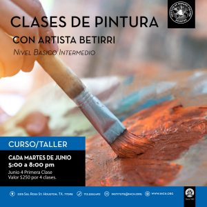 Clases de Pintura @ Institute of Hispanic Culture