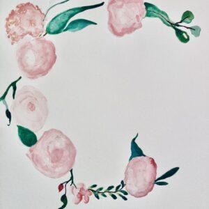 Personalised Watercolour Design
