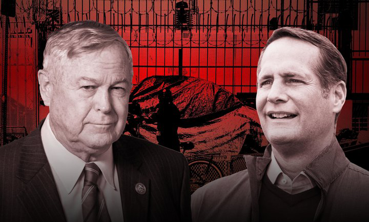 Dana Rohrabacher Vowed To Protect Constituents From The Homeless. His Opponent Harley Rouda Opened A Homeless Shelter.