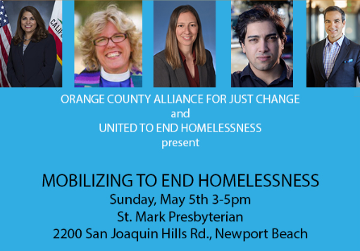 Mobilizing to End Homelessness Free Forum May 5th