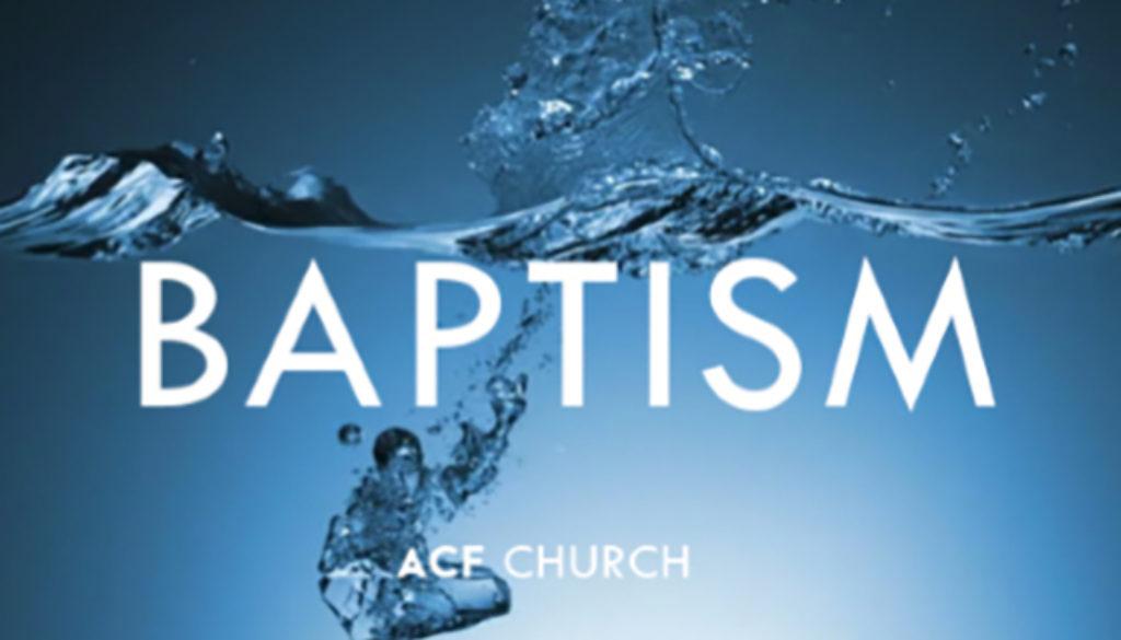 Baptism Services