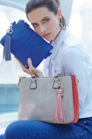 Joseph Ribkoff purses - Grey and blue
