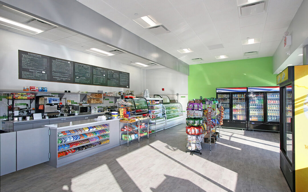 Interior Design: Prologis Cafe Space, Jamaica, NY