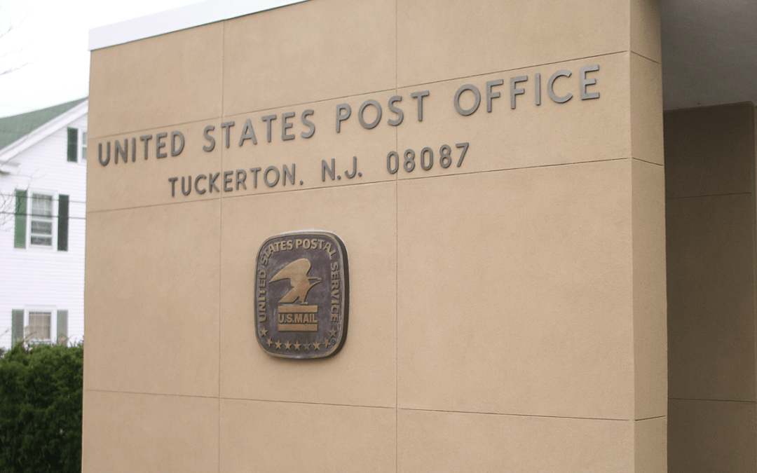 TUCKERTON POST OFFICE, Tuckerton NJ
