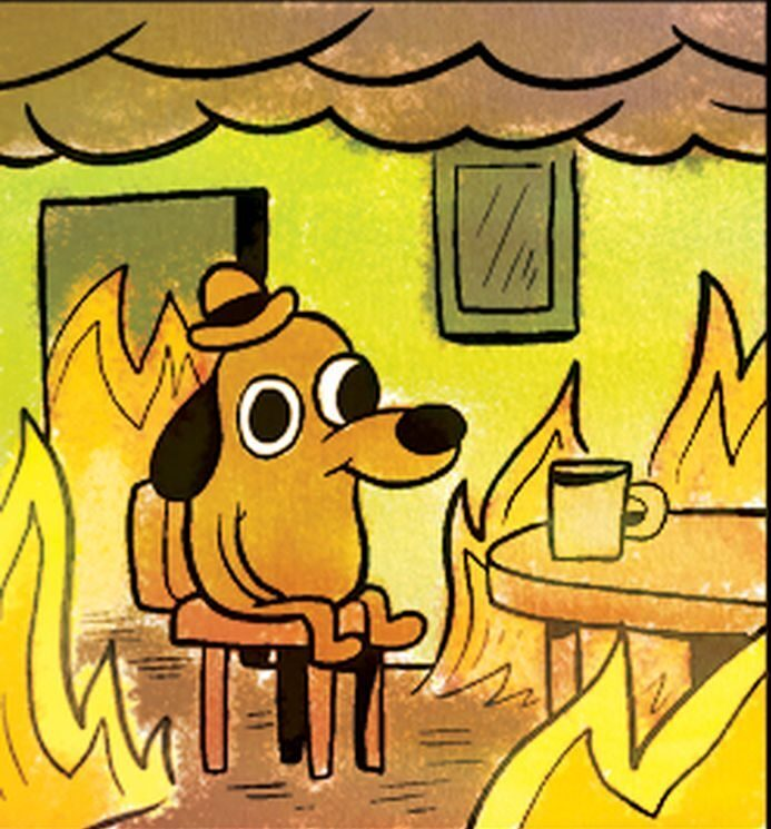 This is fine…