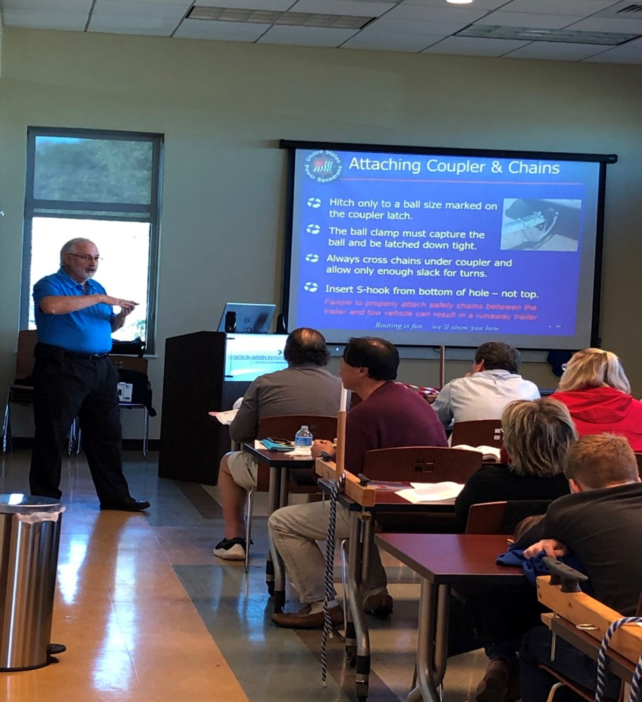 teaching boaters