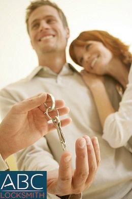 Couple Getting Keys-ABC Locksmith Blog-ABC Locksmith