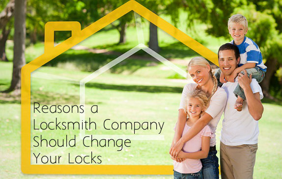 Reasons A Locksmith Company Should Change Your Locks