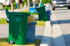 Trash Curbside Safety