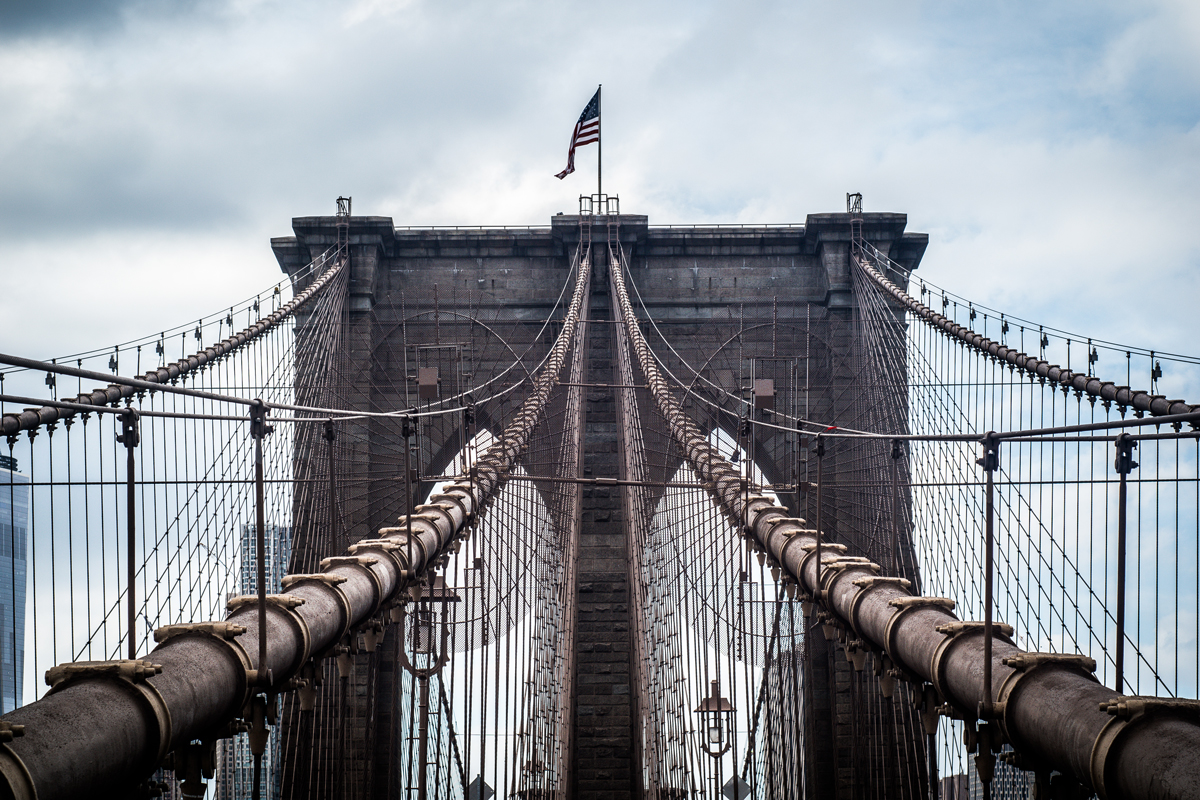 Brooklyn Bridge Photo by Michael Caiati