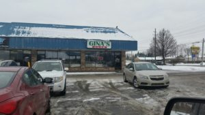 Gina's in a Strip Mall on Harper