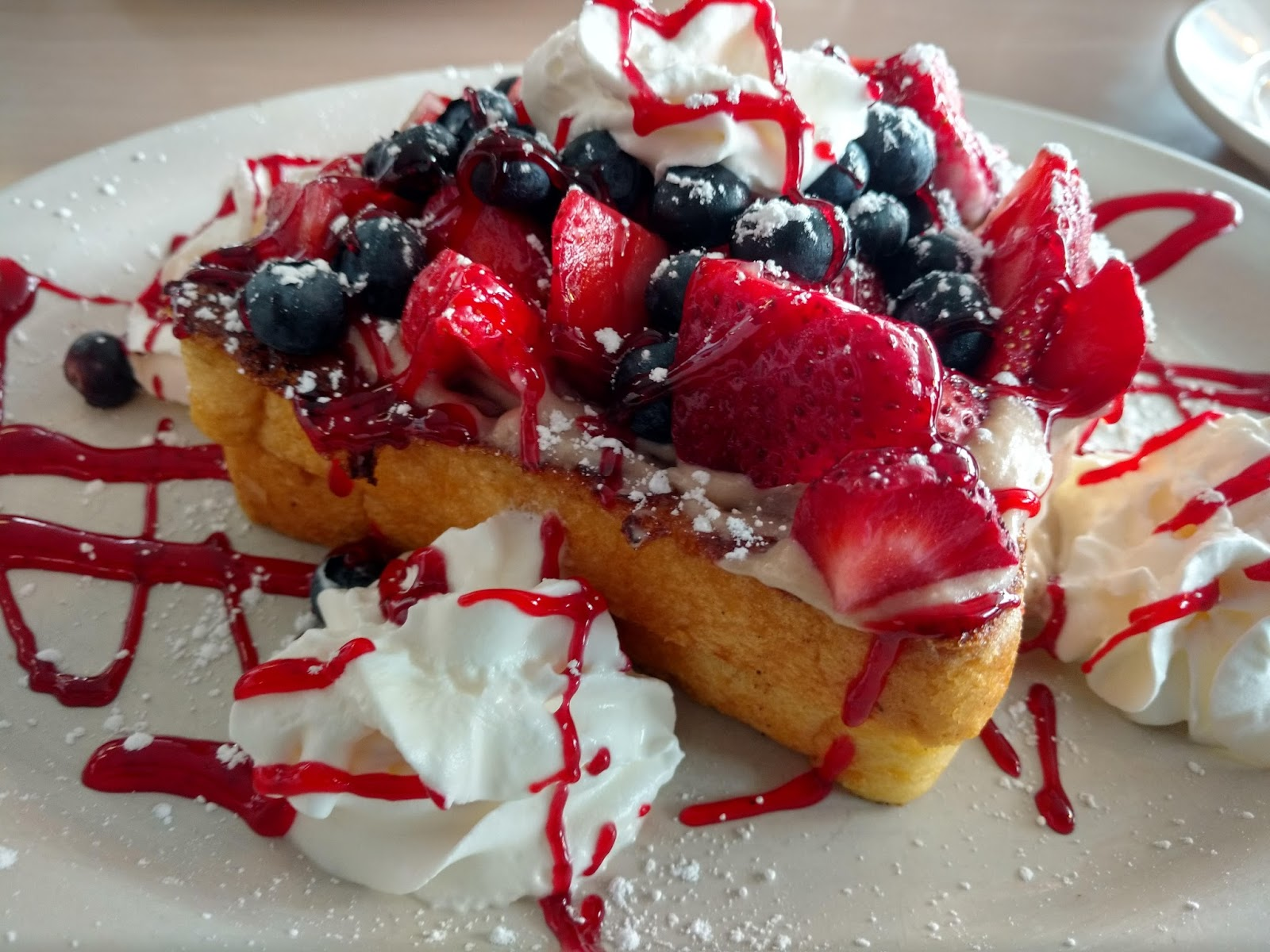 Gina's Very Berry Stuffed French Toast