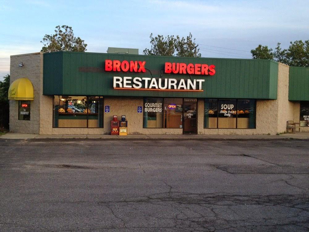 Bronx Burgers in Warren, MI