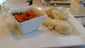 Ms. Mary's and Pete Too! - Poached Salmon