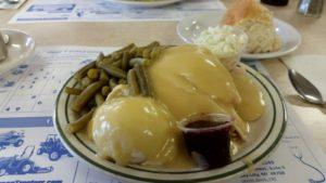 Turkey Roost Dinner Plate