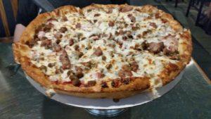 JJ's Deep Dish, Meat-Lovers Pizza