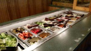 JJ's Steak and Pizza House - Salad Bar