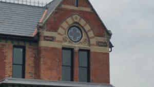 Detail on the Ransom Gillis House