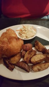 Fish and Chips at the Town Tavern