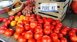 Michigan Grown Vegetables