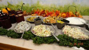Redwood's many salads