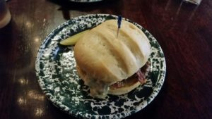 The Blue Babe Burger