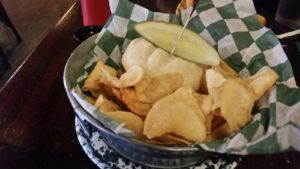 The Porker with Homemade Chips