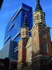 Old St. Mary's Catholic Church in Greektown