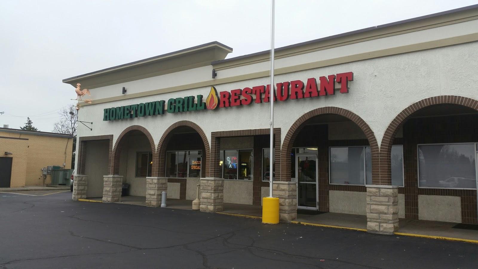 HomeTown Grill Restaurant in Clinton Township, Michigan