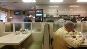 Interior of the HomeTown Grill Restaurant
