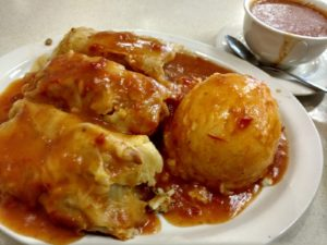 HomeTown Grill's Stuffed Cabbage, Potatoes and Extra Sauce