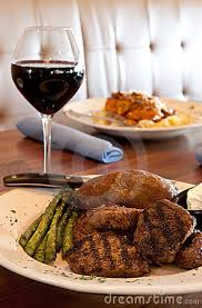 Red Wine with Steak