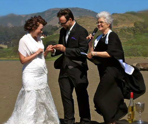 Rodeo Beach wedding