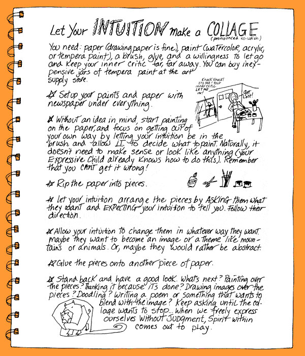 Let Your Intuition Make a Collage