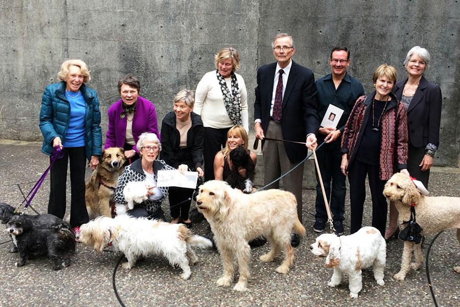 Memorial Service for a Dog Walker