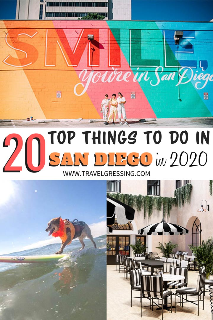 From international food festivals to the world's leading pop culture celebration, here are 20 reasons why you should visit San Diego in 2020.