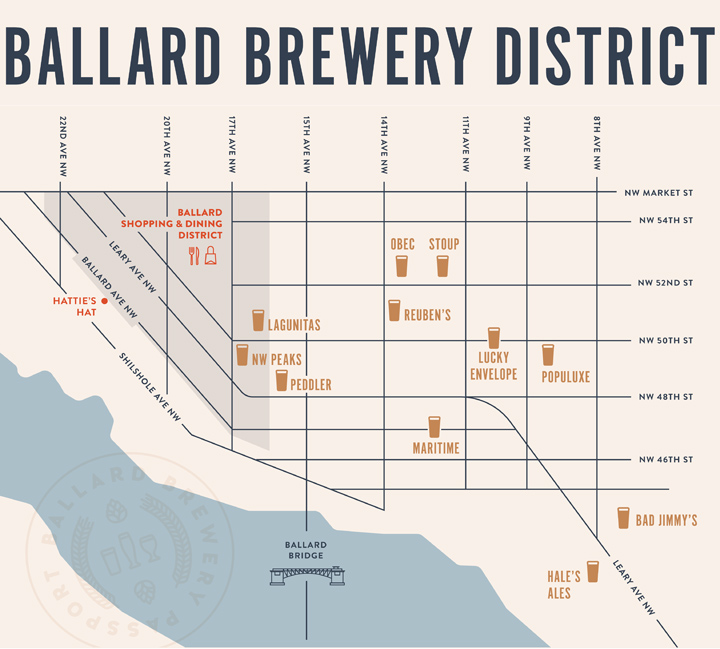 20 Top Things to Do in Seattle in 2020: Ballard Brewery Passport Program