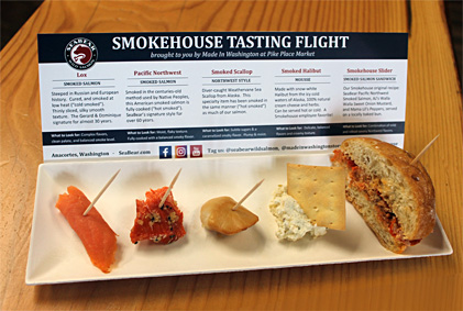 20 Top Things to Do in Seattle in 2020: The Smokehouse Tasting Flight