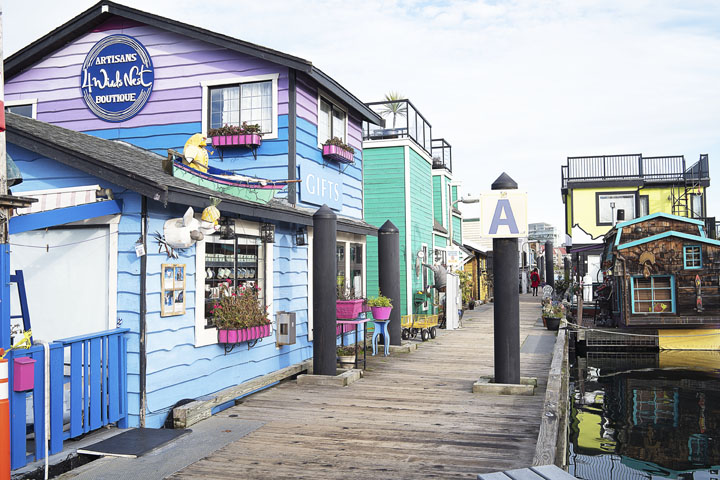Why You Should Visit Victoria Fisherman's Wharf in Victoria BC