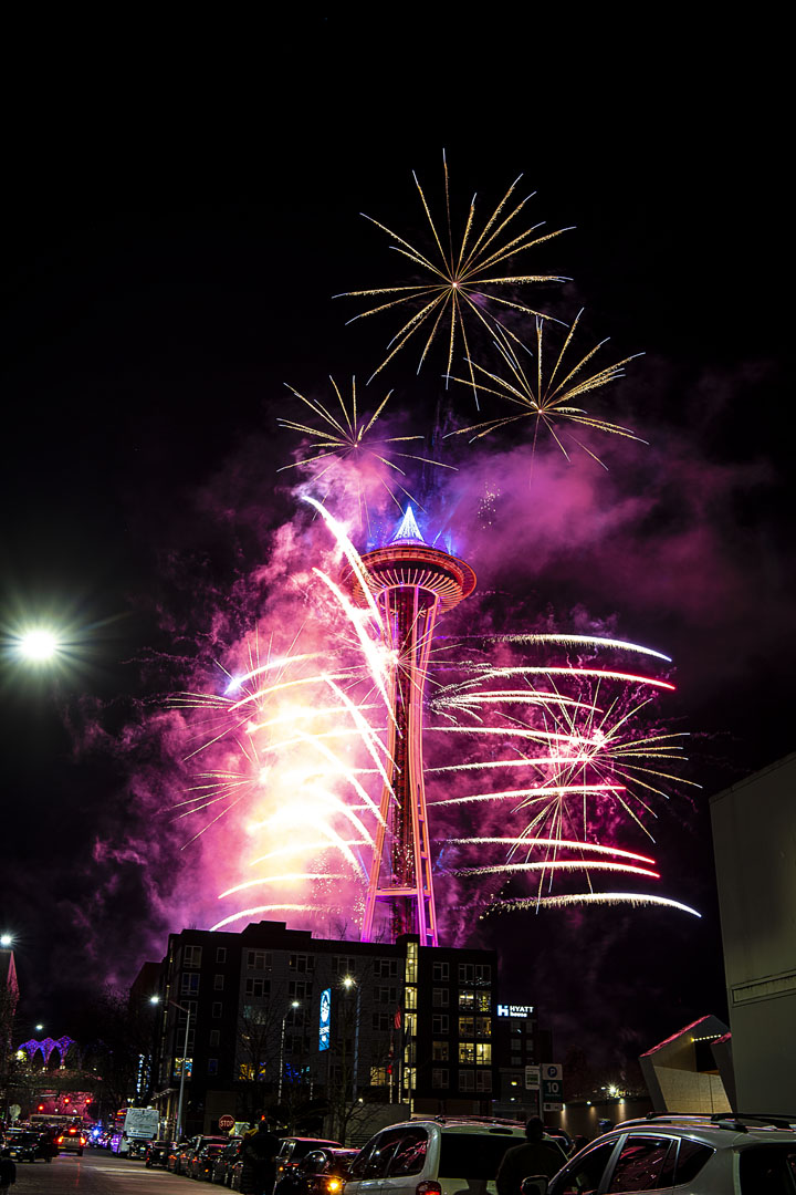 Where to Watch Seattle New Year's Eve Fireworks 2020