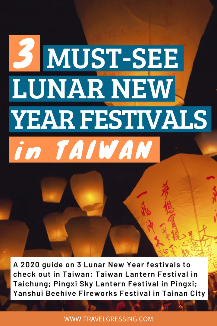 3 Must-See Lunar New Year Festivals in Taiwan 2020
